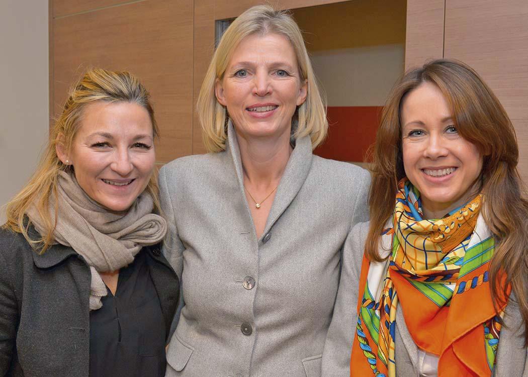 Andrea Brodtmann, Kirsten Dahler und Tina Klein