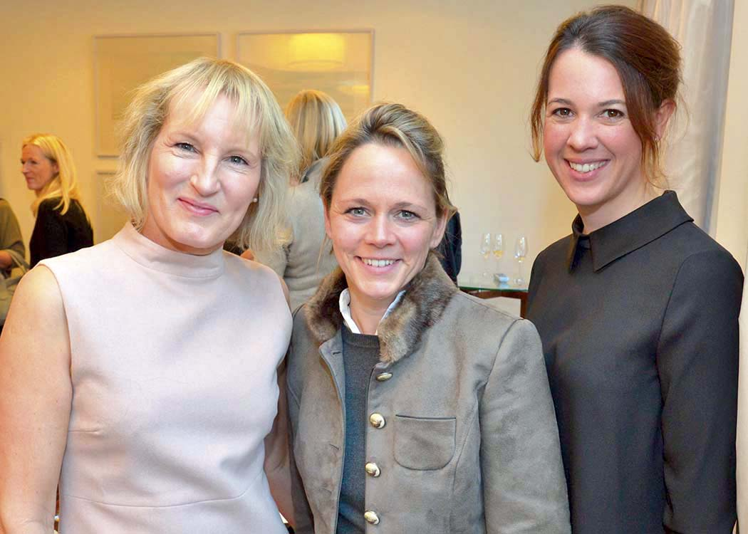 Gaby Bethke, Christina Helms und Annette Kneissler