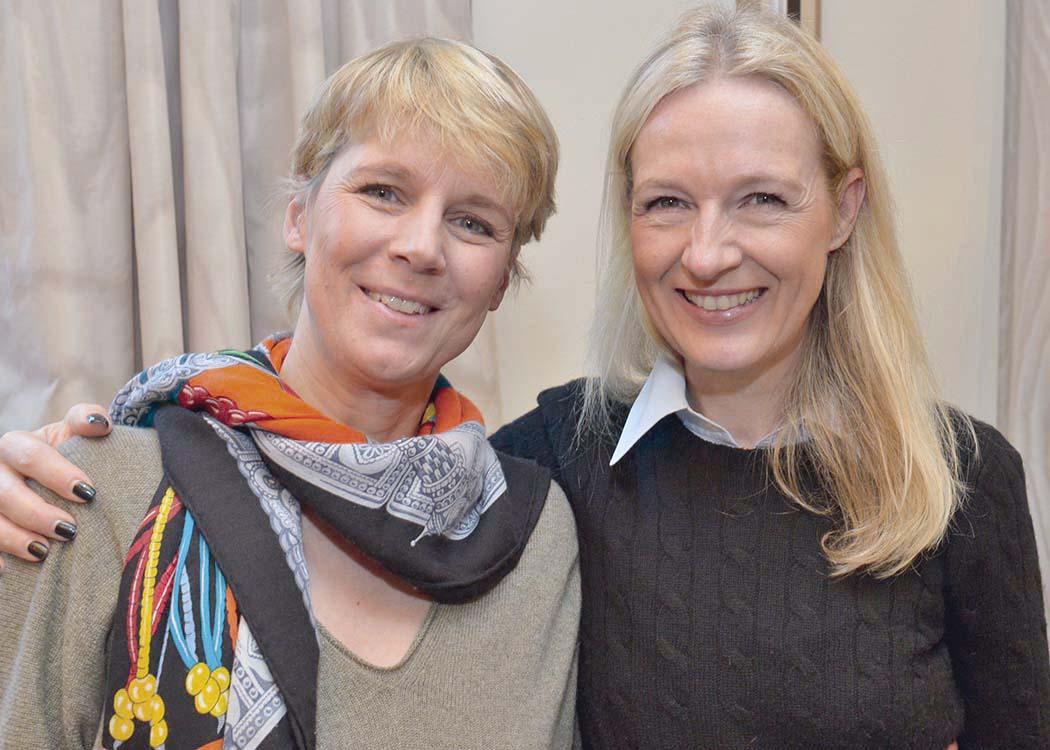Natalie Kowalke und Sabine Menges-Rosowski