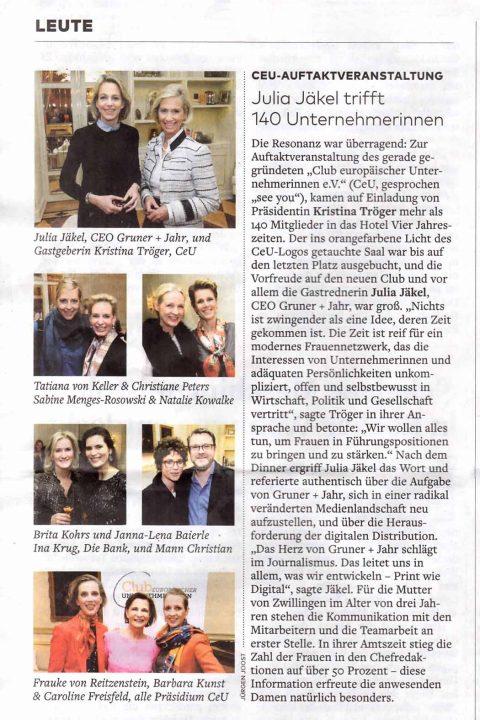 Presseartikel | WELT vom 04.02.2016