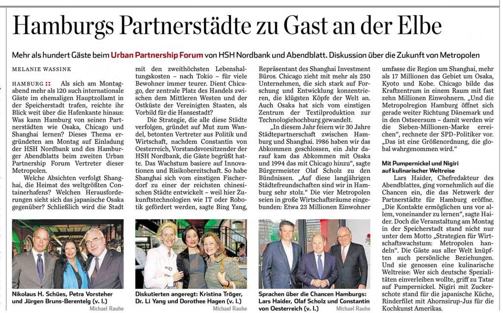 Abendblatt 19.4.16 -  K.Tröger CeU bei Urban Part.Forum