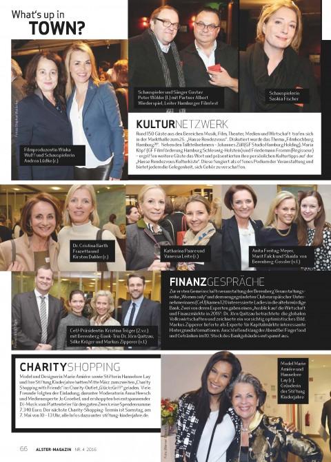 Presseartikel   Alster Magazin 4 – 2016