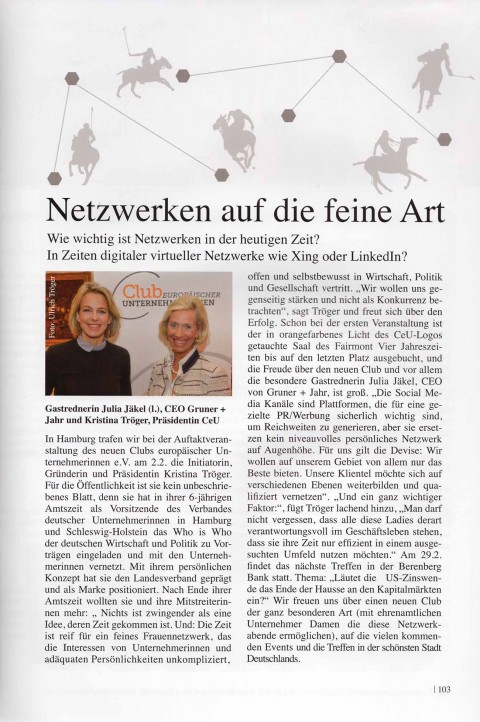 Presseartikel   Polo Magazin  4-2016