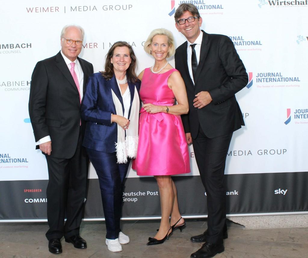 Ulrich Tröger, Christiane Götz-Weimer, Kristina Troger und Wolfram Weimer