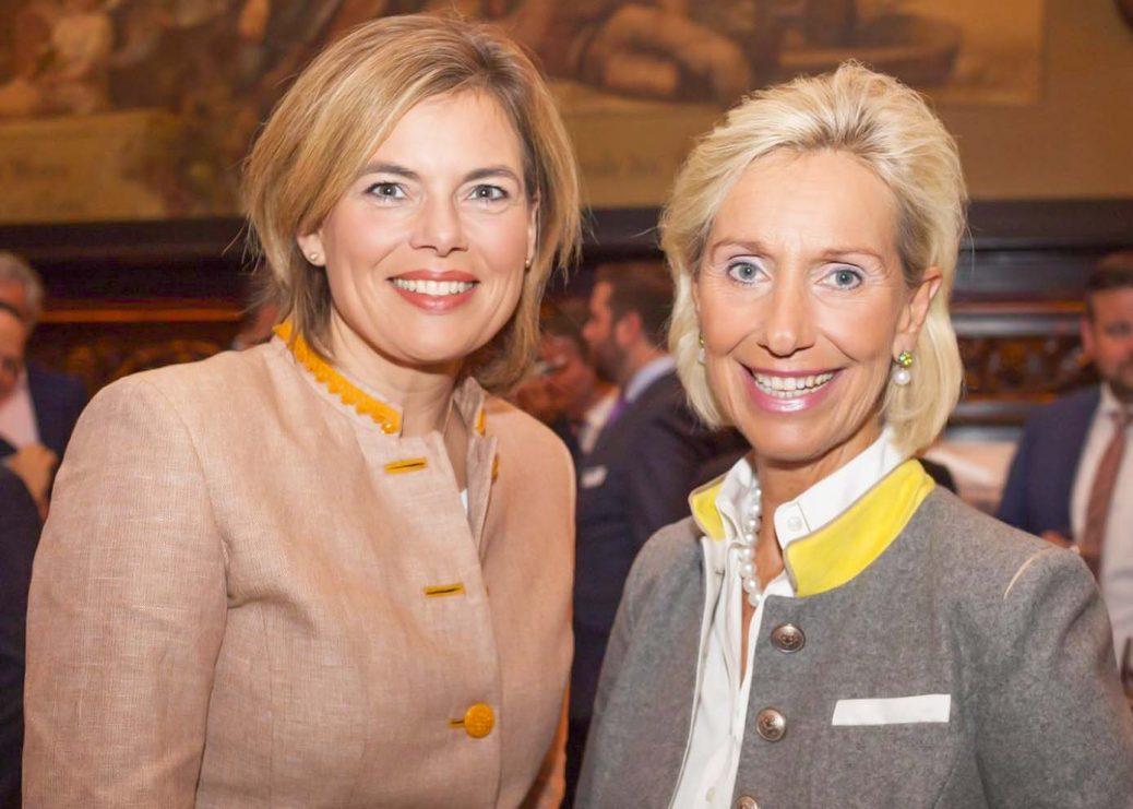 Julia Klöckner und Kristina Tröger