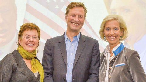 """""""Wahlkampf in Amerika – Ist Trump noch zu stoppen?"""" mit Mathias Müller von Blumencron und Wendy Brown"""