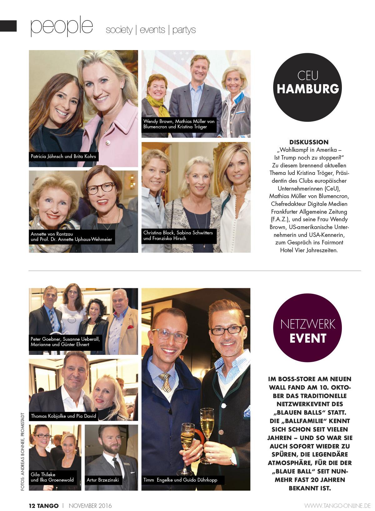 TANGO | Hamburg Ausgabe 11-2016