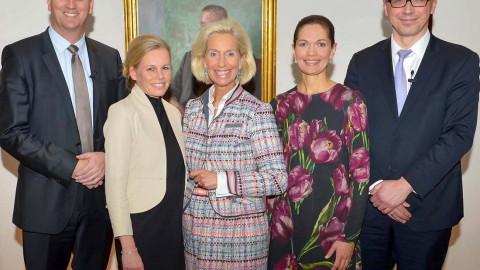 """Gemeinschaftsveranstaltung der Berenberg Veranstaltungsreihe """"Women only"""" und dem Club europäischer Unternehmerinnen (CeU)"""