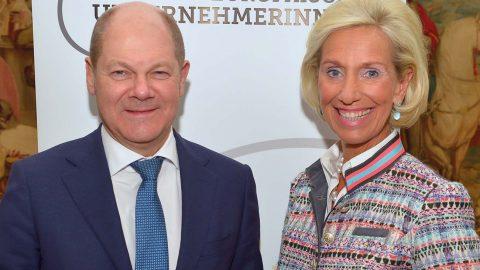Olaf Scholz, 1. Bürgermeister der Freien und Hansestadt Hamburg, zu Gast beim CeU