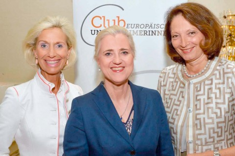 Angela Titzrath, Vorstandsvorsitzende der HHLA, zu Gast beim CeU