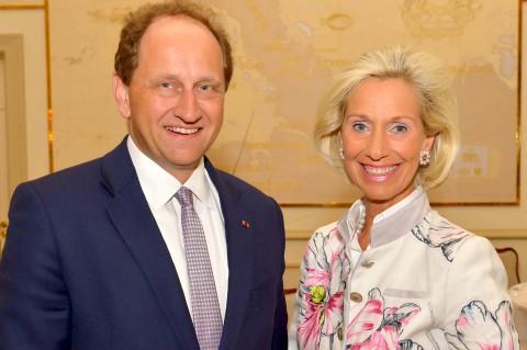 Alexander Graf Lambsdorff, Vizepräsident des Europäischen Parlaments, zu Gast beim CeU