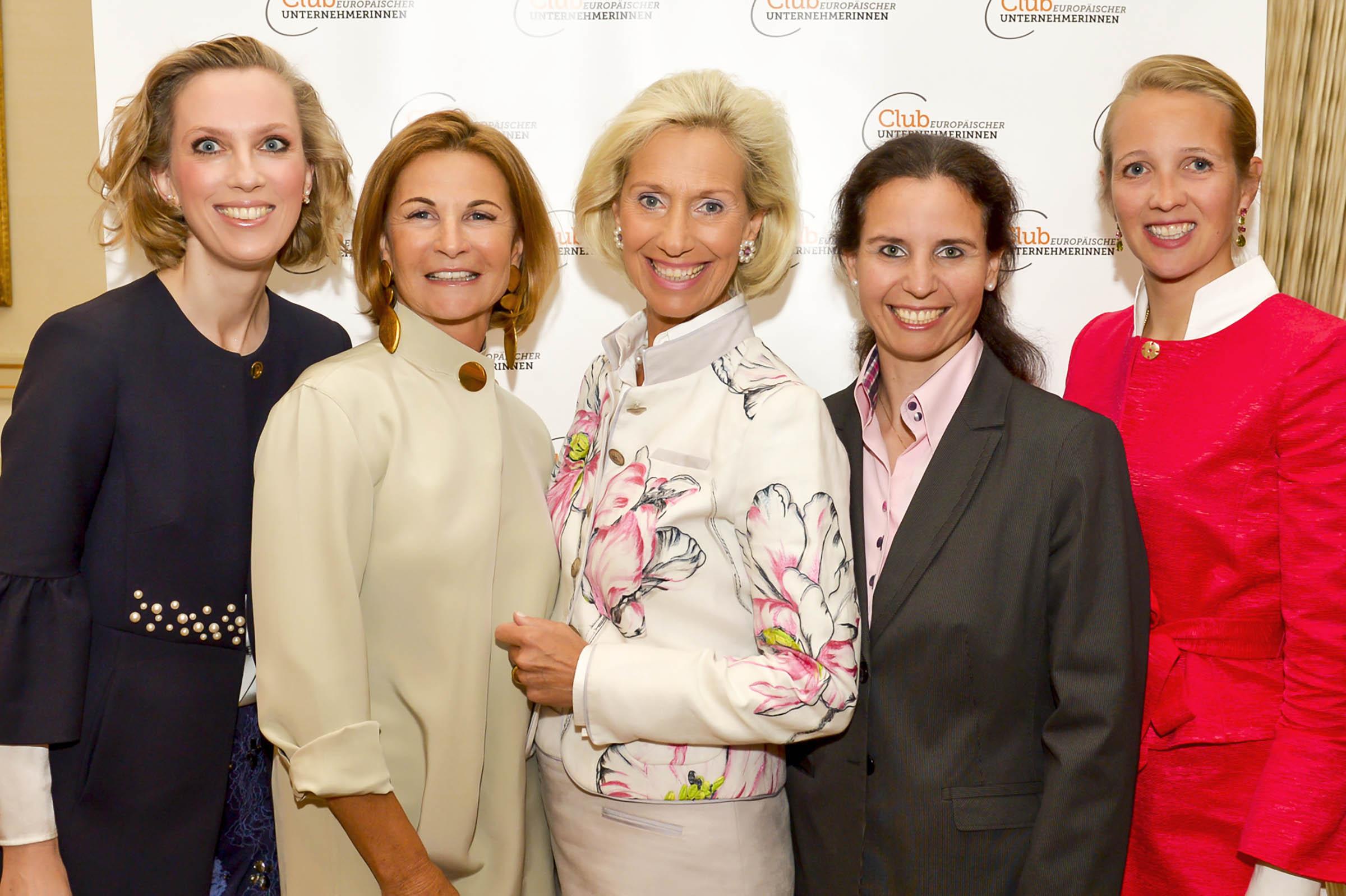 Frauke von Reitzenstein, Barbara Kunst, Kristina Tröger, Marina Tcharnetsky, Caroline Freisfeld