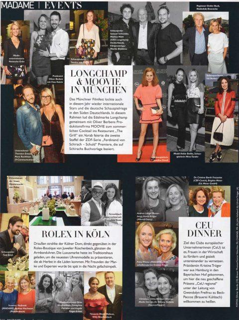 Presseartikel | Madame Ausgabe 0817