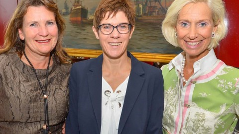 Annegret Kramp-Karrenbauer zu Gast beim CeU
