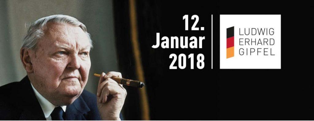 Ludwig-Erhard-Gipfel 2018 – Jahresauftakt für Entscheider