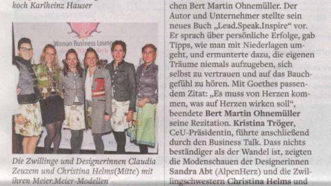 Presseartikel | WELT vom 04.11.17