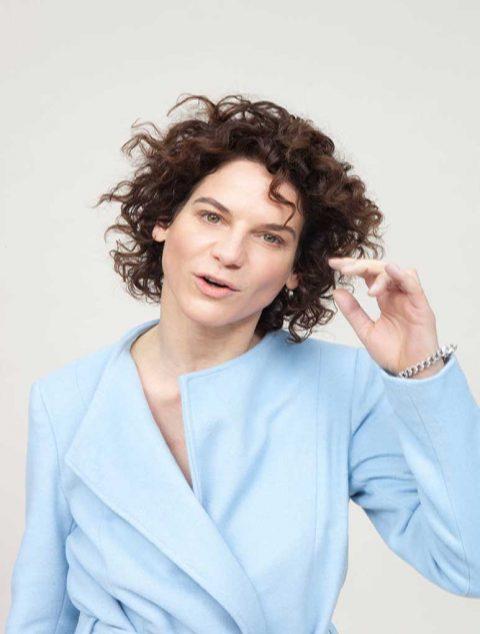 """""""Körpersprache – die Entwicklung der persönlichen Präsenz"""" – Kurzvortrag und Dialog mit Bibiana Beglau, Schauspielerin"""
