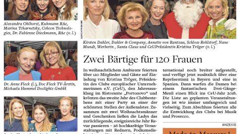 Presseartikel | WELT AM SONNTAG vom 17.12.17
