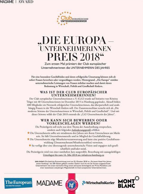 Presseartikel | Madame Ausgabe 0218