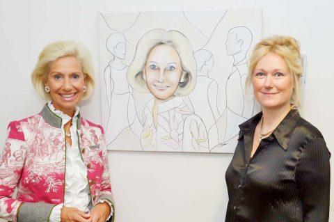 """Kunstprojekt """"Classefrauen"""" – Ausstellung im Sächsischen Landtag"""