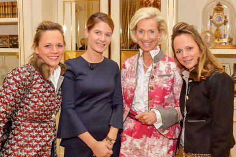 Tanit Koch, Chefredakteurin der Bildzeitung, bestritt vor über 120 geladenen Unternehmerinnen und Gästen ihren letzten öffentlichen Auftritt als Chefredakteurin