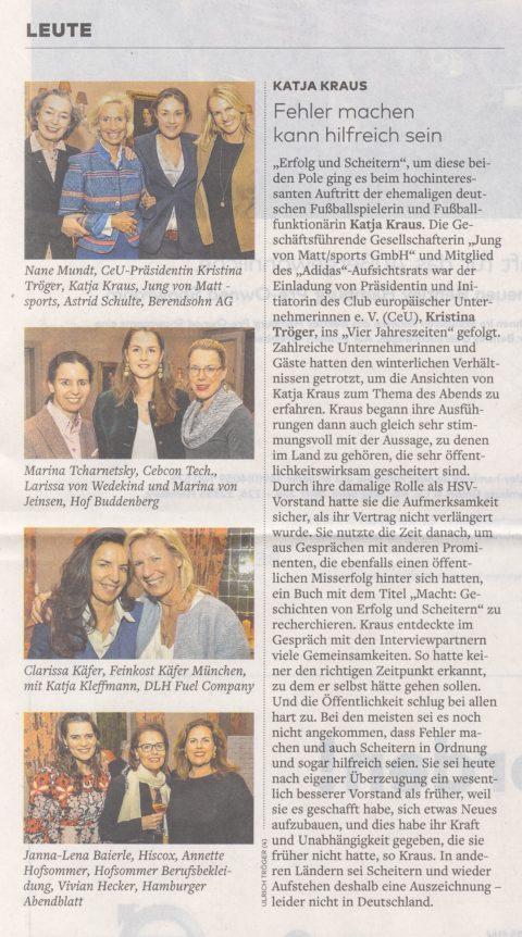 Presseartikel | WELT AM SONNTAG vom 03.03.18
