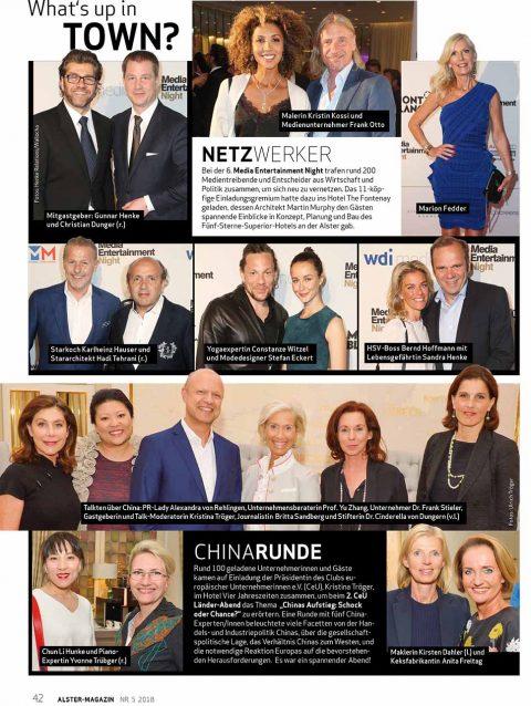 Presseartikel   Alster Magazin 0518