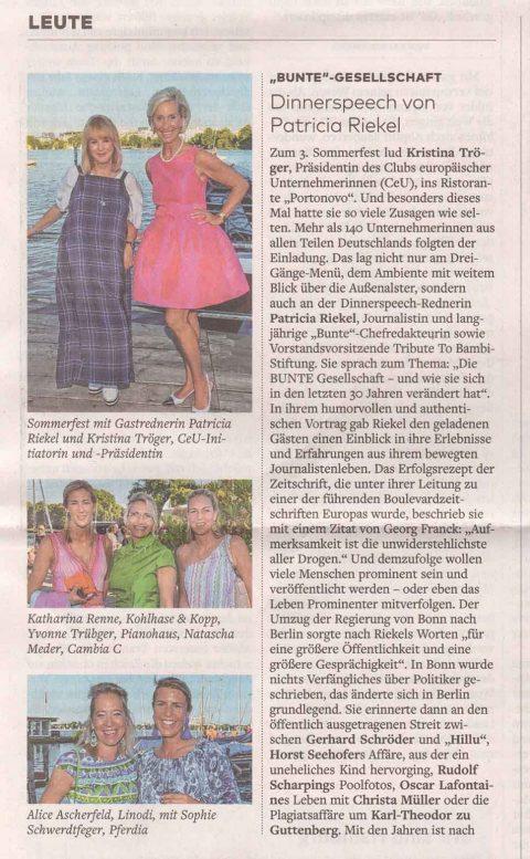 Presseartikel | WELT vom 25.7.18