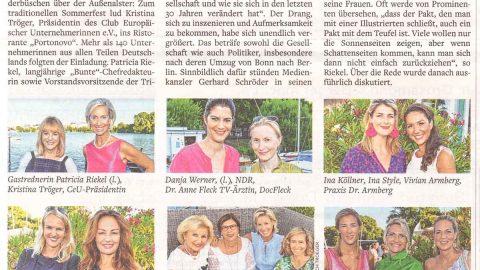 Presseartikel | WELT AM SONNTAG vom 29.07.18
