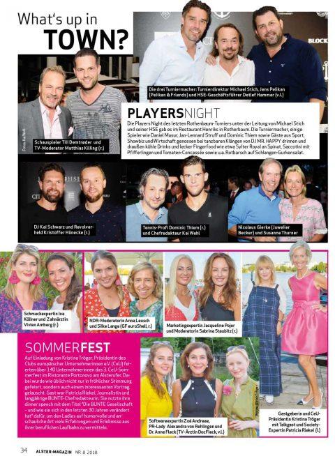 Presseartikel | Alstermagazin 0818
