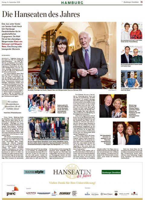 Presseartikel | Abendblatt vom 14.09.2018