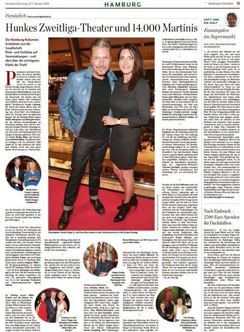 Presseartikel | Abendblatt vom 06.10.2018