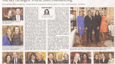 Presseartikel | WELT AM SONNTAG vom 28.10.18
