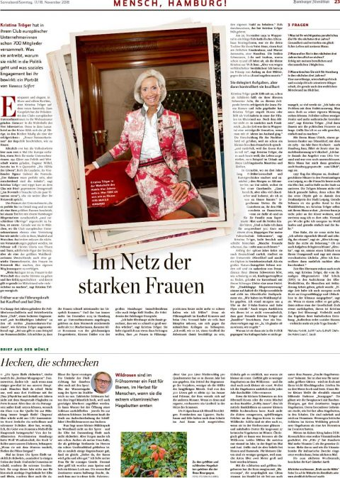 Presseartikel | Abendblatt vom 17.11.2018