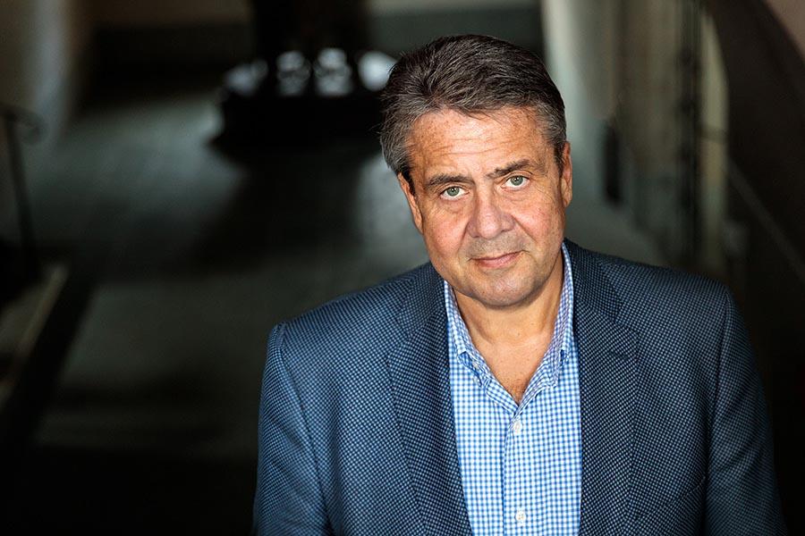 Sigmar Gabriel Abgenommen