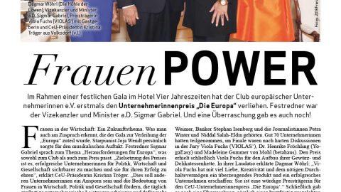 Presseartikel | Alster Magazin 1118