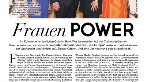 Presseartikel | Alstertal Magazin 1118