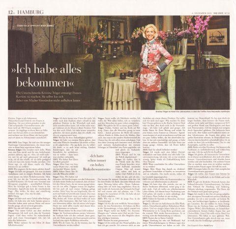 Presseartikel | DIE ZEIT 1218
