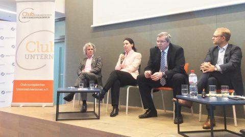 """Podiumsdiskussion in der Friedrich Naumann Stiftung zum Thema """"Zukunftsmodell Europa: Hamburg und die wirtschaftlichen Folgen des BREXIT"""""""