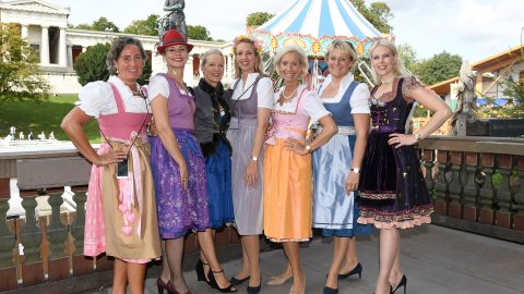 Spektakulärer 3. CeU Ladies Wiesn-Lunch