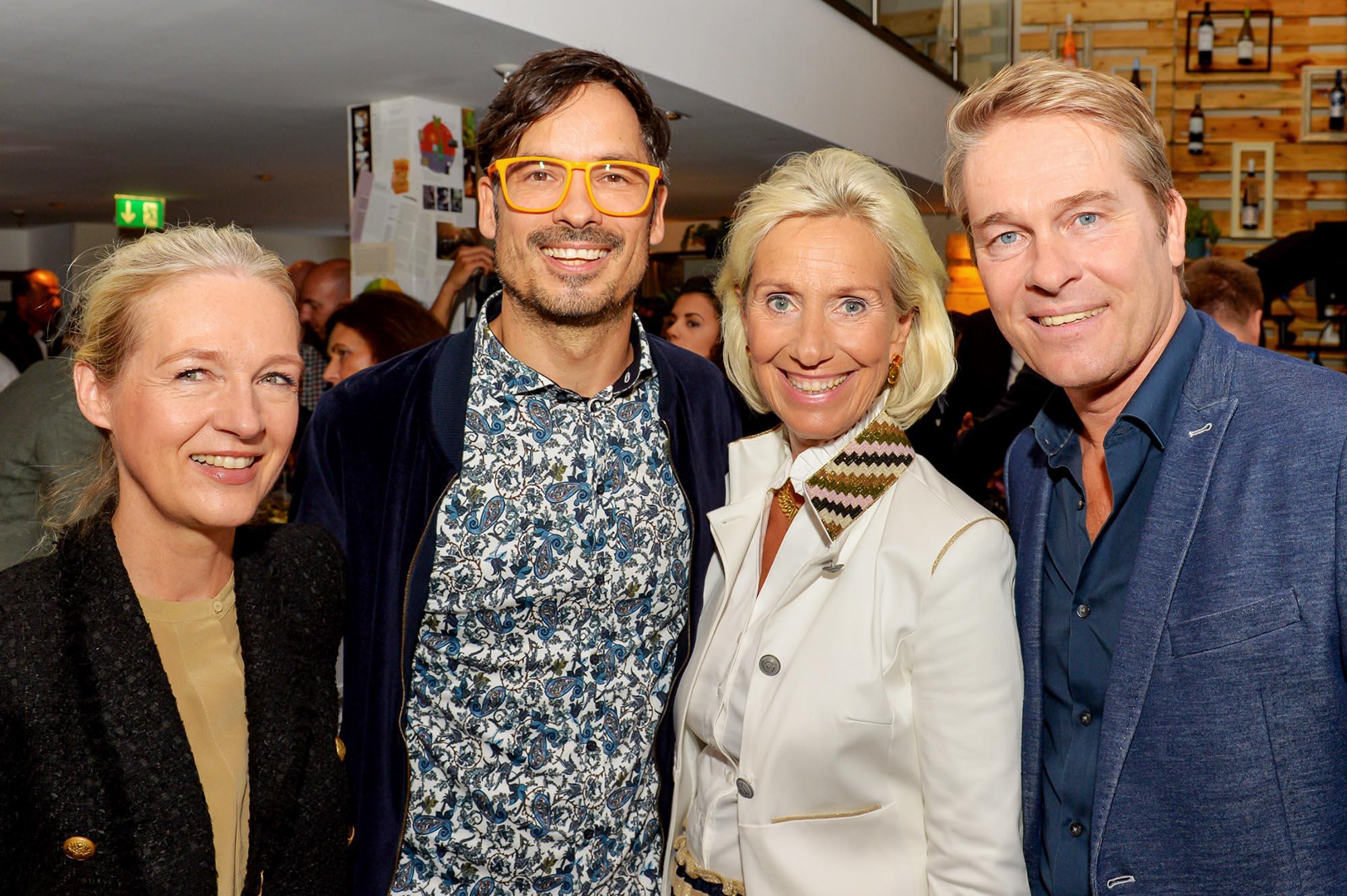 Sabine Menges-Rosowski Nokia, Tim Vogt Speaker, Kristina Tröger CeU-Präsidentin, Hinnerk Baumgarten NDR