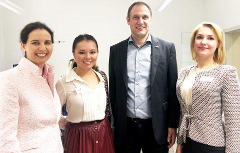 Get-together mit ukrainischen Unternehmerinnen